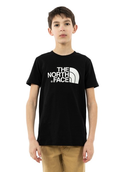 tee shirts manches courtes the north face easy ky4 black