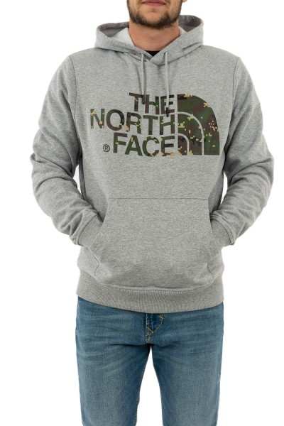 sweat the north face 3xyd standard dyx light grey heather