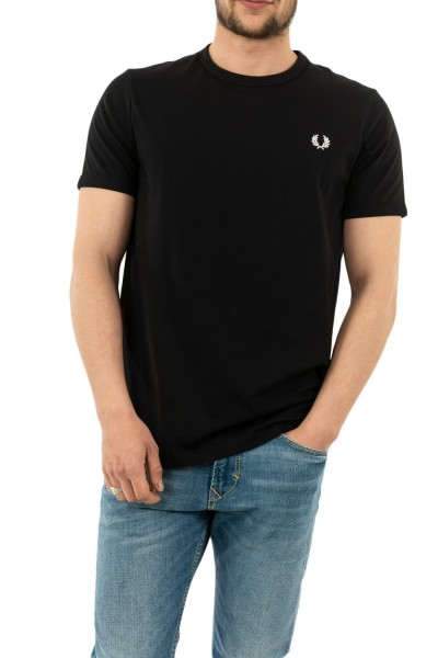 tee shirt fred perry m3519 102 black