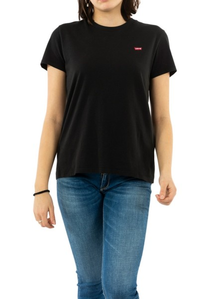 tee shirt levis perfect tee mineral black