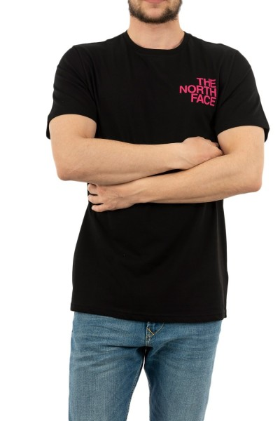 tee shirt the north face graphic flow 1 qf5 blk