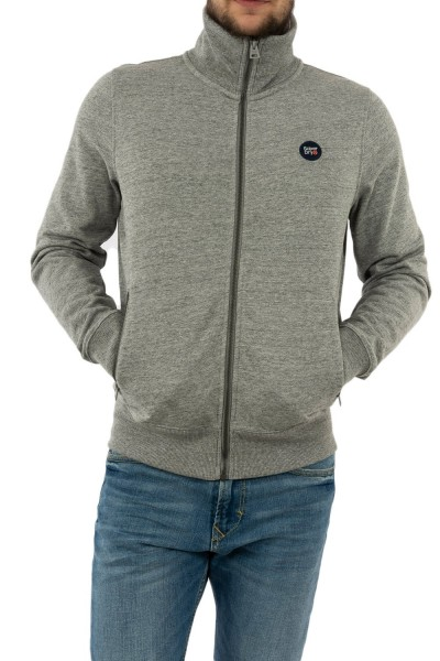 sweat superdry m2010154a 9ss collective dark grey grit