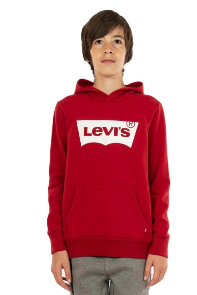 sweat levis batwing screenprint r1r levis red/ white