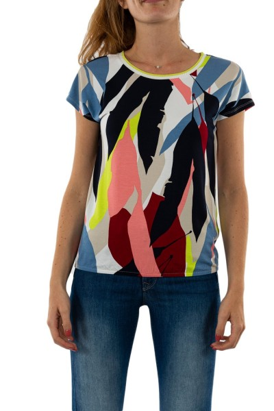 tee shirt street one all over printed 30000 white