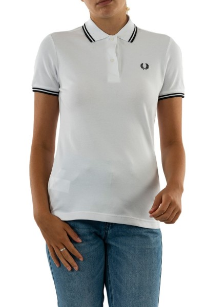 polos fred perry g3600 200 white