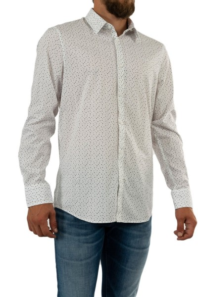 chemise guess jeans sunset ppp0 wht