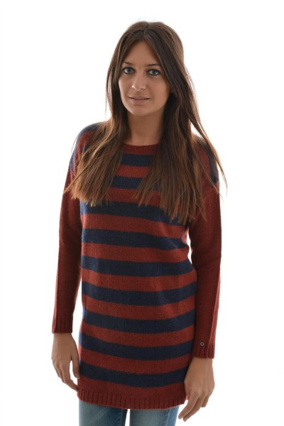 pull hiver Edc By Esprit longgeosweater rouge