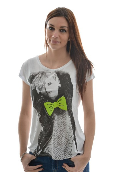 tee shirt only 15084698 - funny celebrity blanc