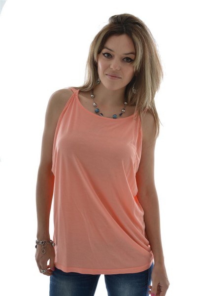 tee shirt street one 106223 orange