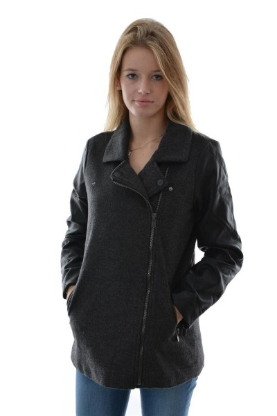 doudounes Edc By Esprit wolly mix coat noir