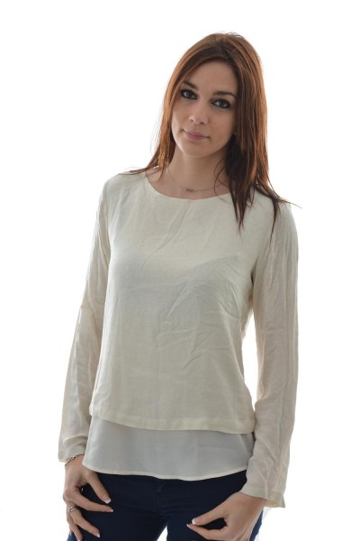 tee shirt manches longues tom tailor 2029453 beige
