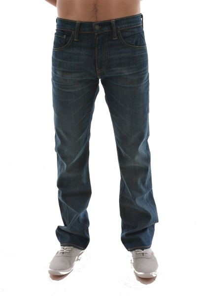 jeans levis 527 slim boot cut bleu