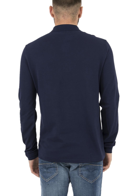 acb658fc01 Polo manches longues lacoste homme référence l1312 bleu